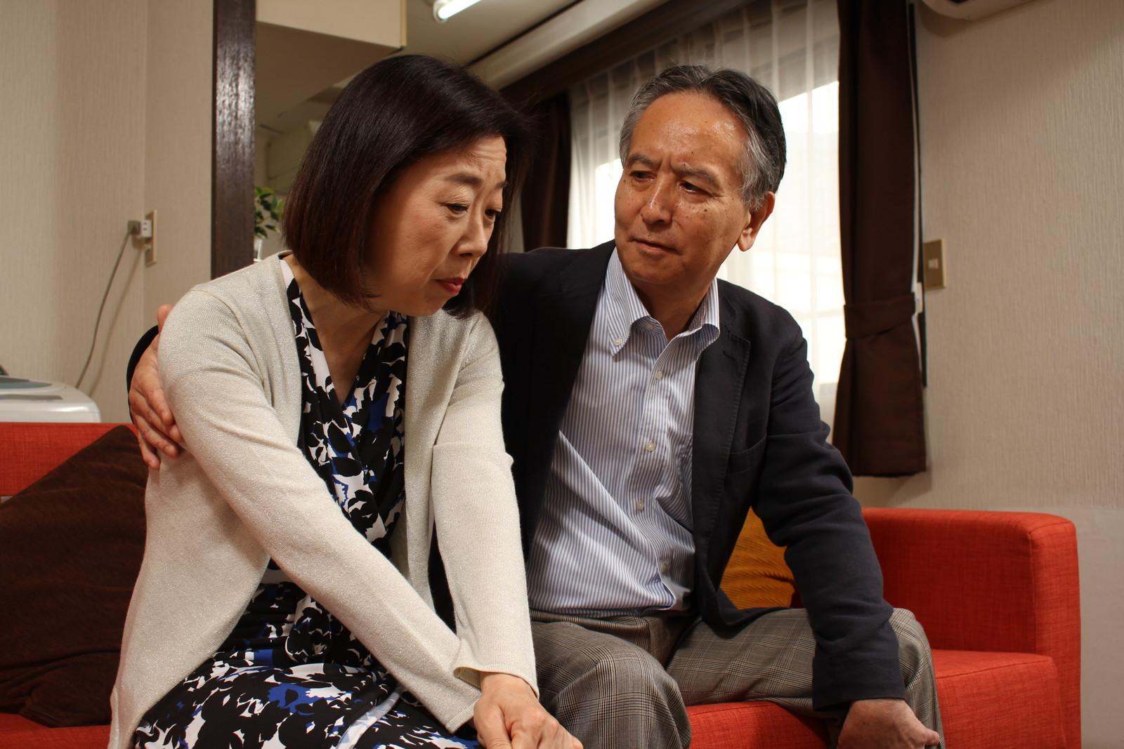 「なんであなたと結婚なんてしたのかしら・・・」おじさんガーン(´゚д゚`)