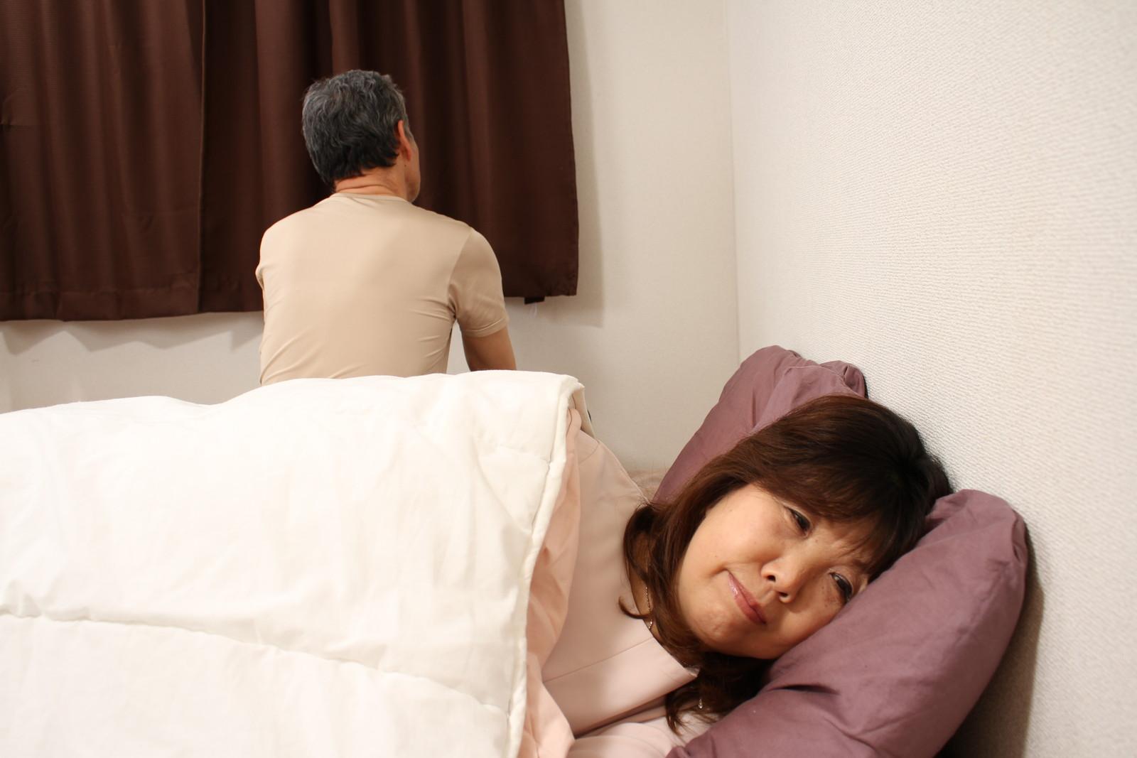 ケンカした時は先に寝ちゃいま~す!(・∀・)