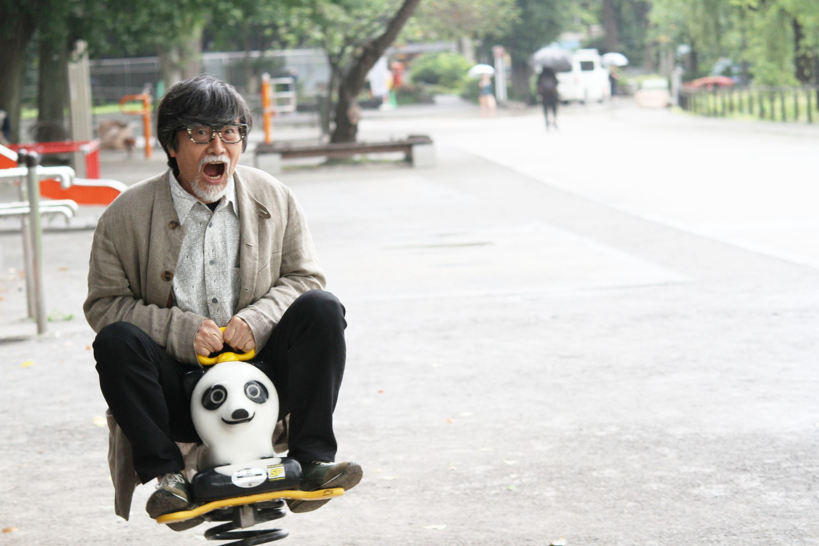 上野動物園の赤ちゃんパンダ、28日から名前募集だよ!,シニア,写真,画像,素材,老人,高齢者,フリー