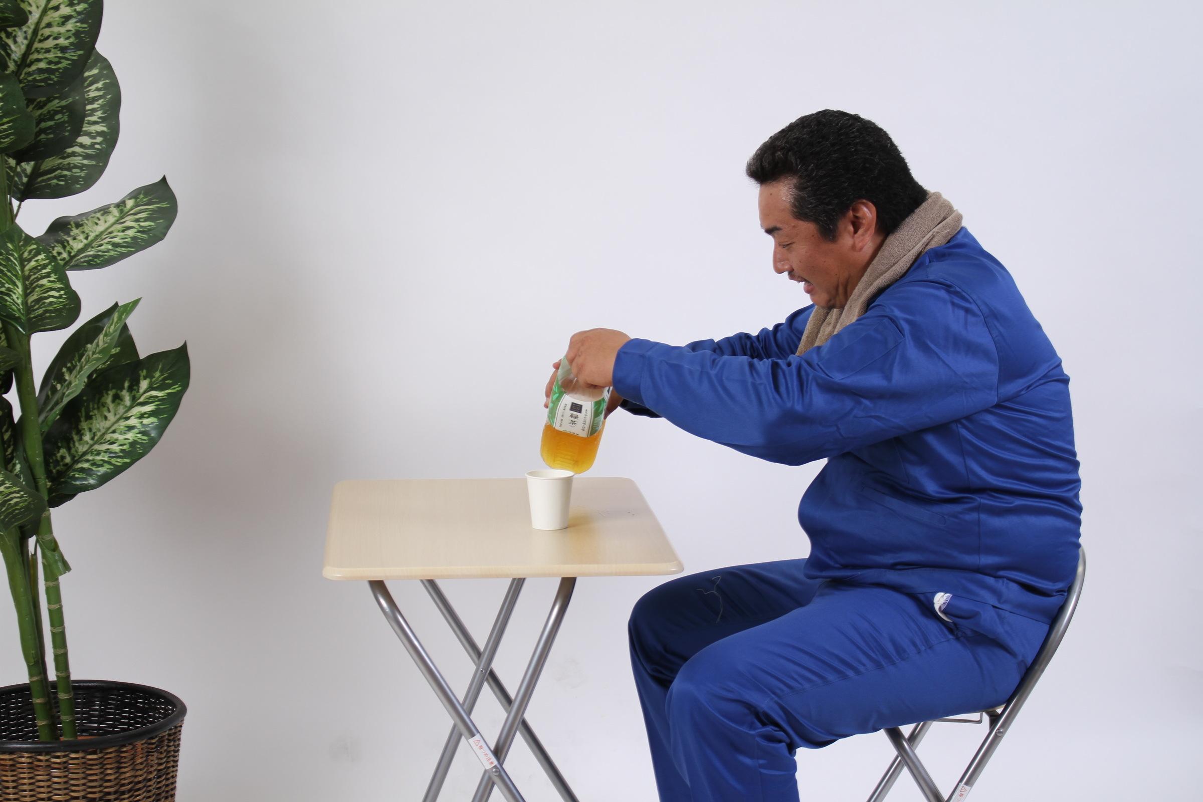 [02]「お茶キターーーー」,シニア,写真,画像,素材,老人,高齢者,フリー